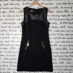 Roz & Ali Vegan Leather Dress